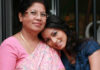 pooja_with_mom